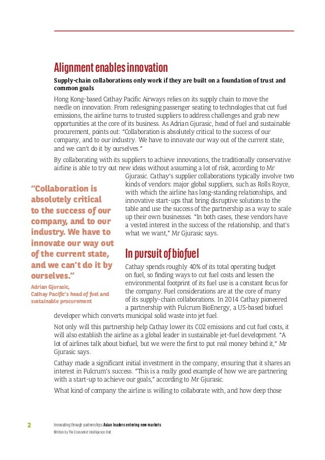 Innovating supply chains in Asia Slide 3