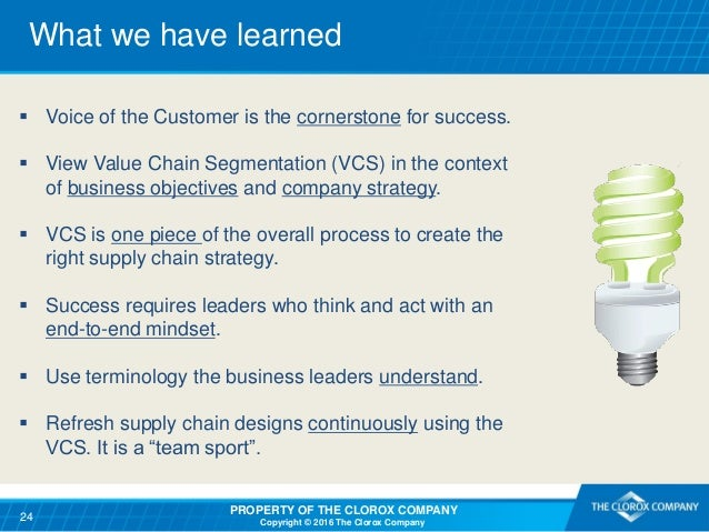 understanding the customer and supply chain Both business people and supply chain professionals are trained to focus on the customer's needs in order to understand the customer better, we divide customers into a different group and.