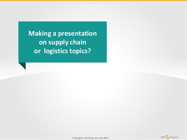 supply chain logistics presentation examples