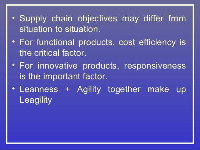 leagility defined for the supply chain House building supply chain strategies:  in this context the housing building supply chain is defined as: the  new type of supply chain strategy is leagility.
