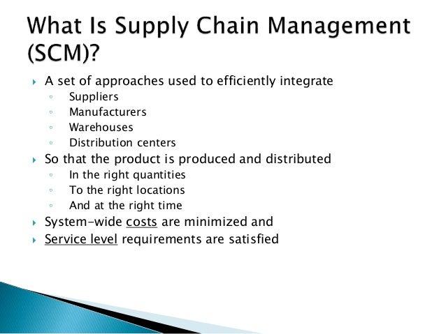 supply chain transportation case study