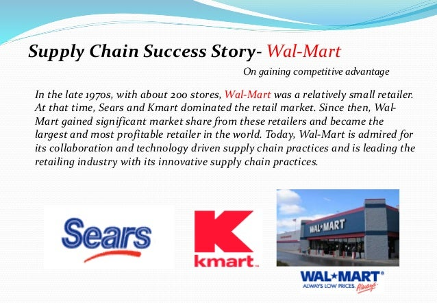 internal external supply chain customers for kmart
