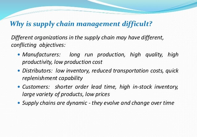 Supply chain case studies and answers