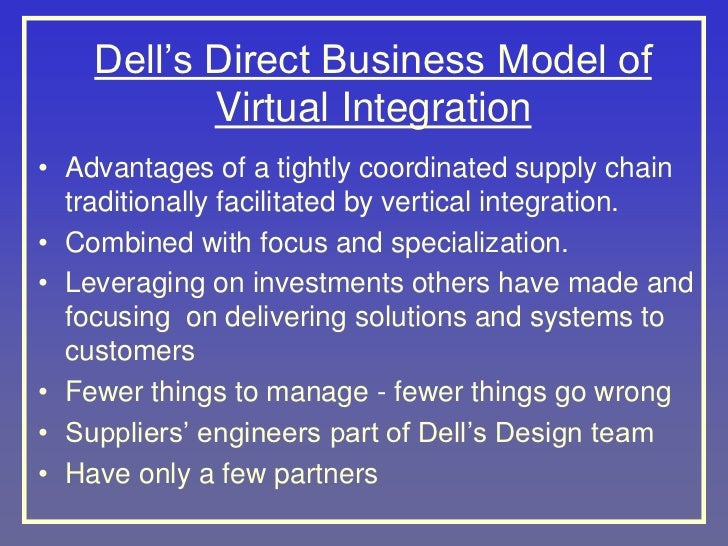 dell s virtual integration advantages and the auto industry Eliminate complexity with dell emc vxrail,  charge and are the industry's only hyper-converged appliance featuring kernel-layer integration between.