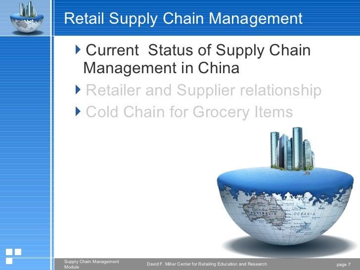 Food Distribution & Processing