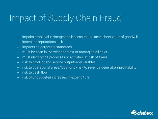 Occupational abuse and fraud