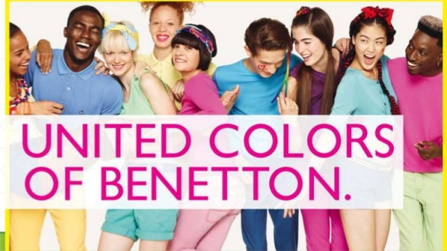 United colors of Benetton brand