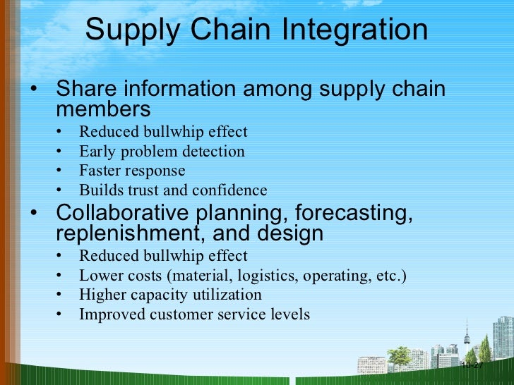 Supply chain management ppt @ doms