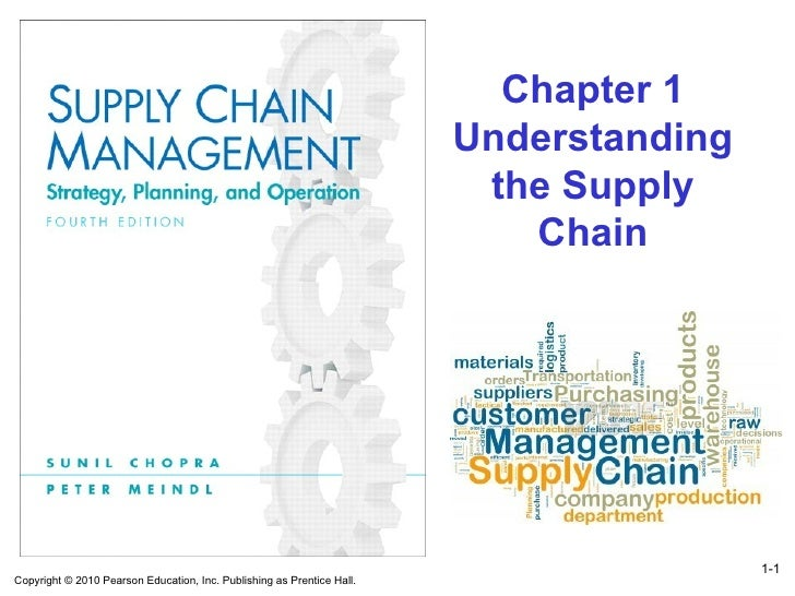 1- Chapter 1 Understanding the Supply Chain