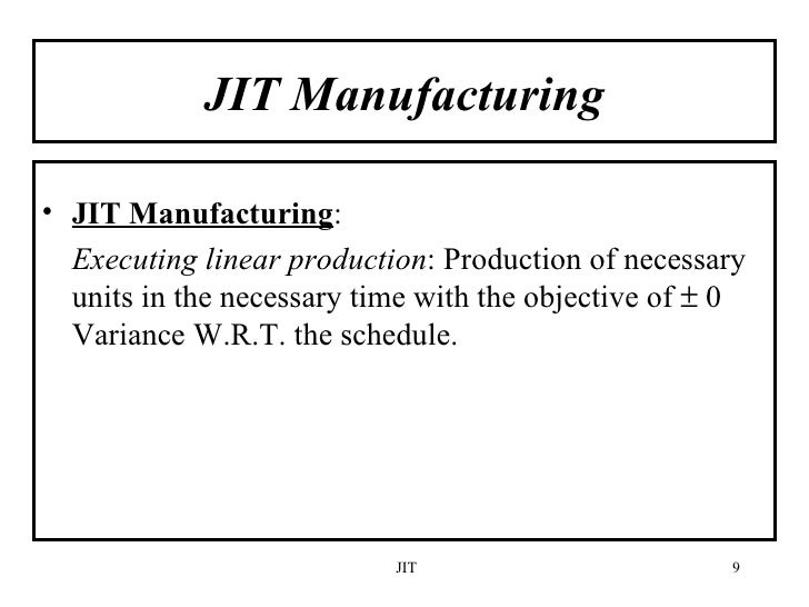 jit in supply chain The correlation analysis for jit implementation shows that all the variables ie, product design, tqc, inventory management, supply chain integration and product planning are showing.