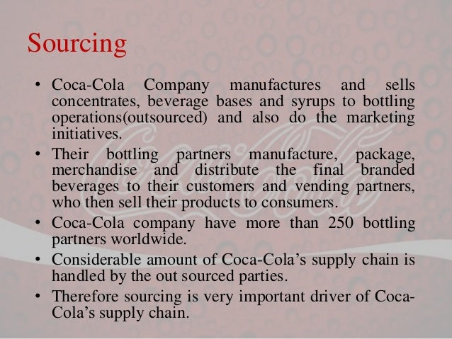 the difference between value chain for pepsico coca cola At coca-cola, everything we do is  to create value and make a difference our vision we've come up with a set of goals that outline what we need to do to achieve.