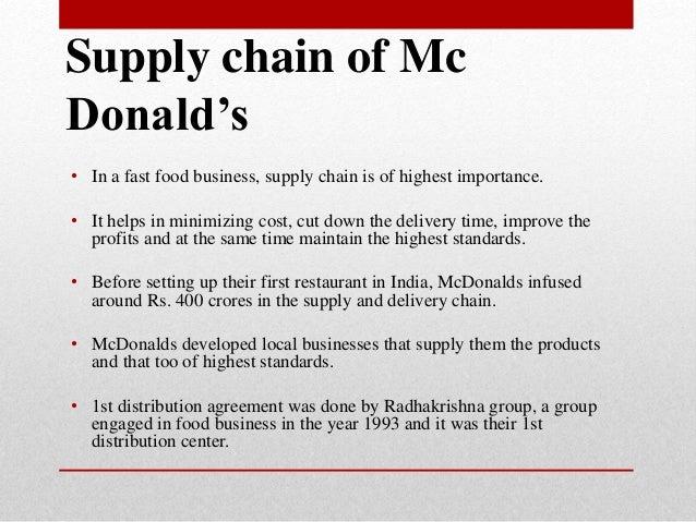 Fast Food Net Profits