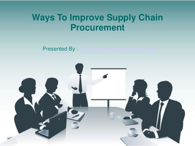 Ways To Improve Supply Chain Procurement Presented By : http://www.dragonsourcing.com/