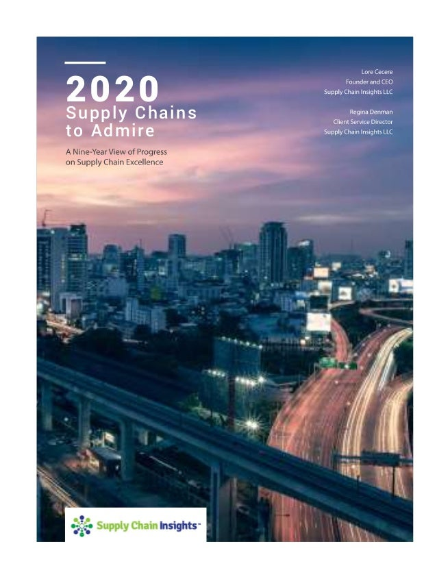 Supply Chains to Admire Report 2020