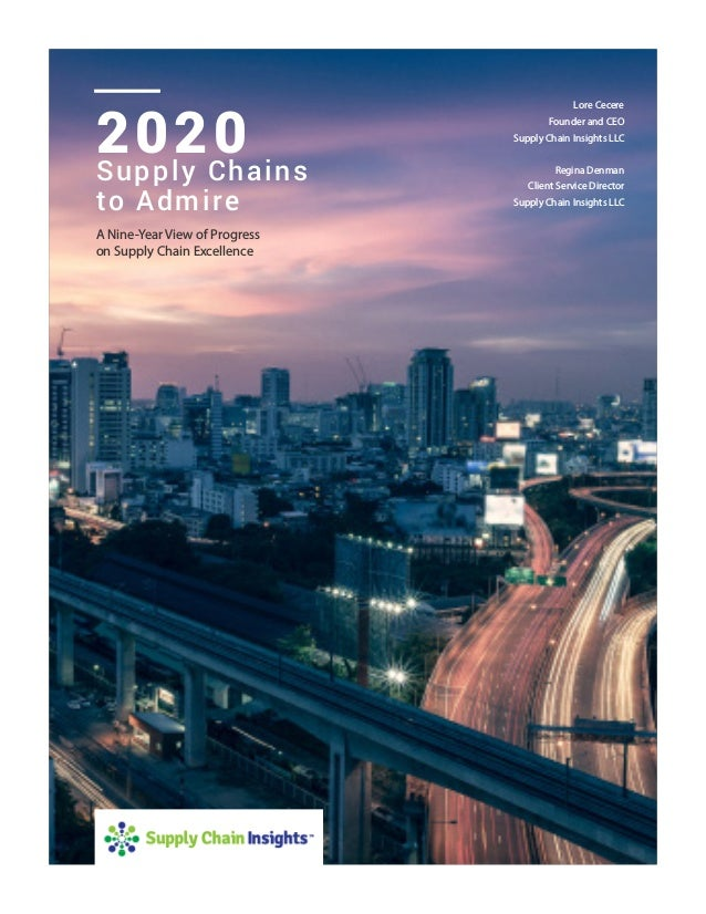 Supply Chains To Admire 2020