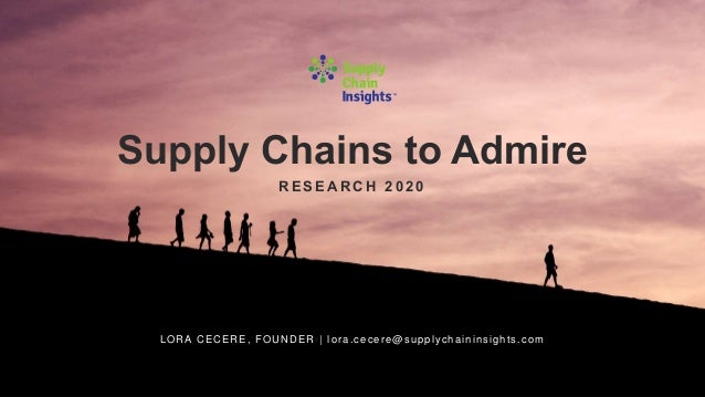 Summary of the Supply Chains to Admire Analysis