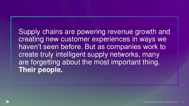 Putting People First: Building the Future Supply Chain Workforce Slide 2
