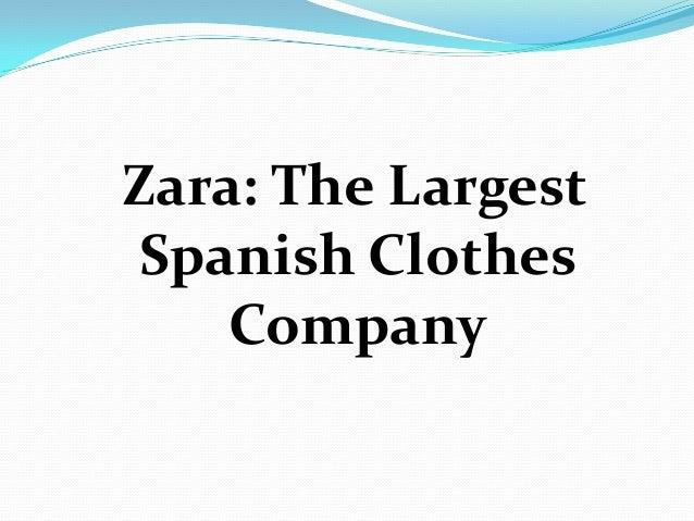Supply chain management of ZARA Slide 2