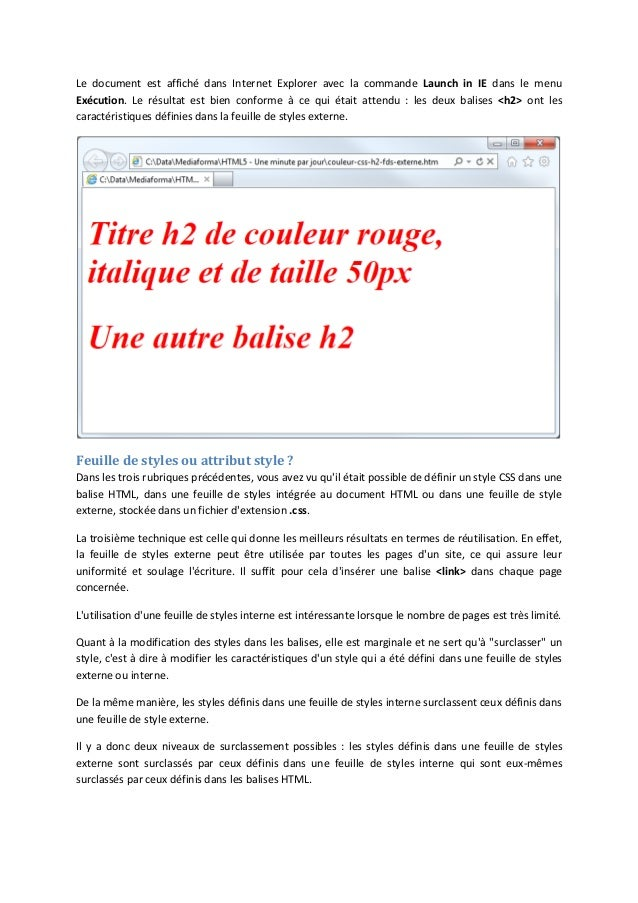 Support Tutoriel Débuter Html5 Css3 Et Javascript Tome 2