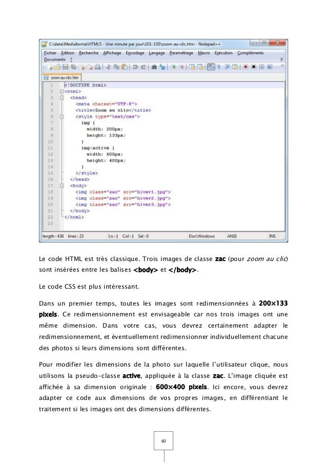 Support Tutoriel Debuter Html5 Css3 Et Javascript Tome 3
