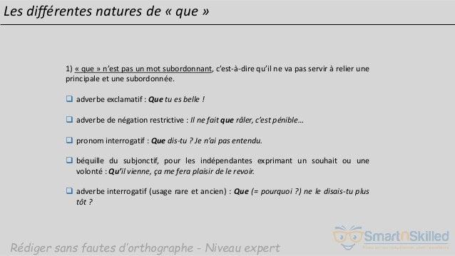 Smartnskilled Rediger Sans Fautes D Orthographe Niveau Expert