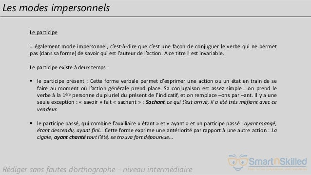 Support Formation Video Rediger Sans Fautes D Orthographe Niveau