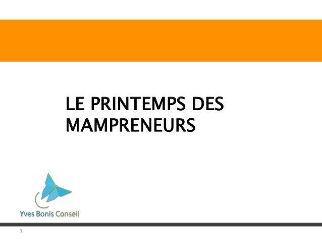 1 LE PRINTEMPS DES MAMPRENEURS