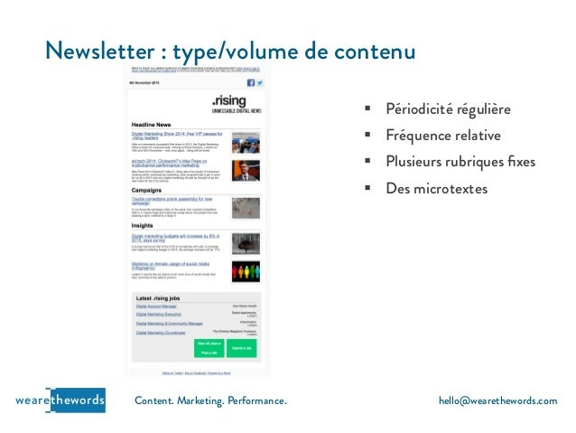 Optimiser vos campagnes e-mail et newsletter - Support conférence