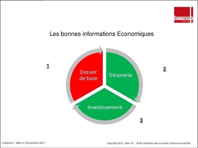 LE CREDIT : GENERER DE LA CONFIANCE                                             Les bonnes informations Economiques       ...