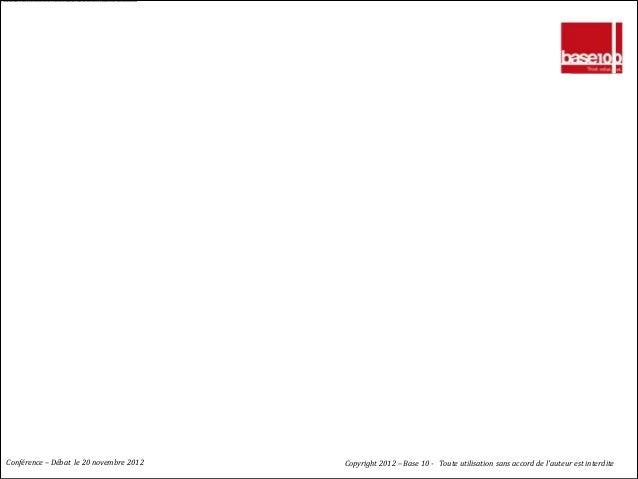 Merci à tous                                         Bonne suite…Conférence – Débat le 20 novembre 2012          Copyright...