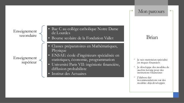 développer un modèle de Machine learning Slide 3