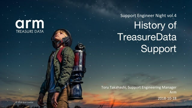 History of TreasureData Support