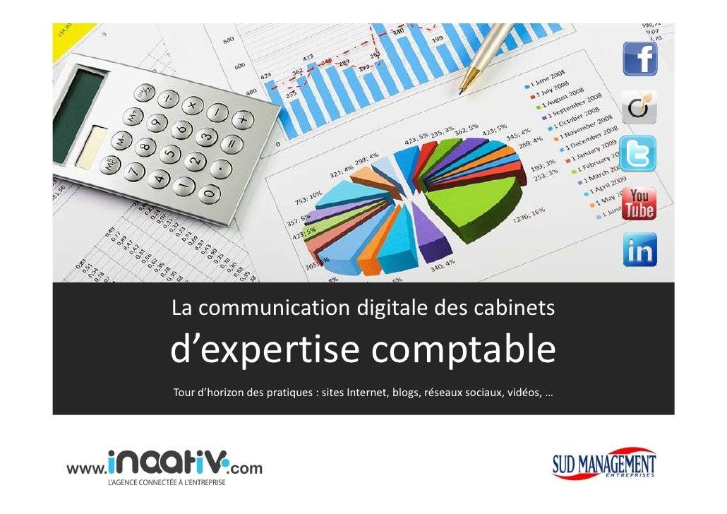 La communication digitale des cabinetsd'expertise comptableTour d'horizon des pratiques : sites Internet, blogs, réseaux s...