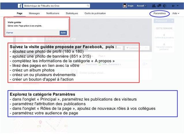 Une Page Facebook En Bibliotheque