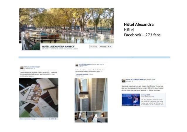 Hôtel Alexandra Hôtel Facebook – 273 fans