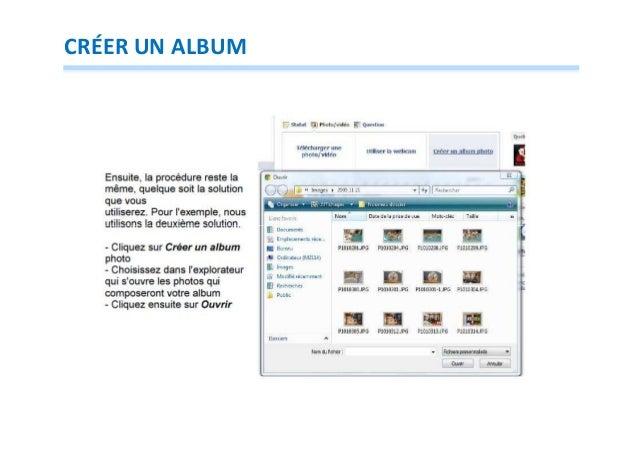 CRÉER UN ALBUM