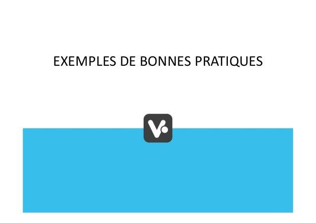 EXEMPLES DE BONNES PRATIQUES