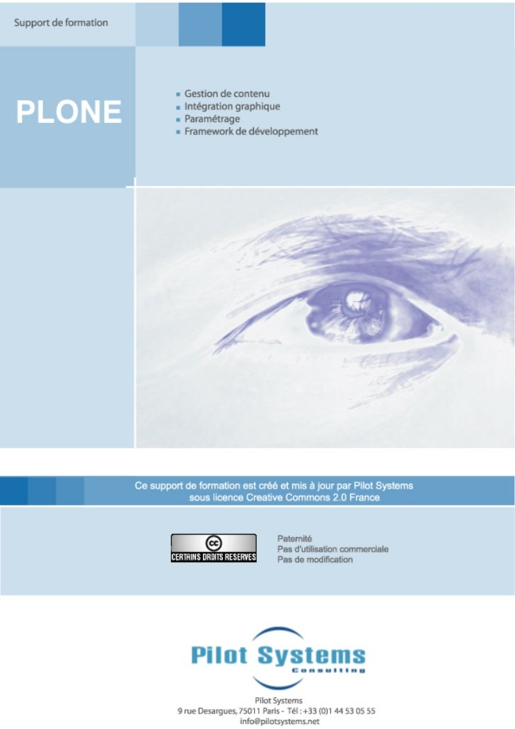 Formation Plone
