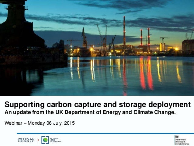 Climate Change Update: Supporting CCS Deployment