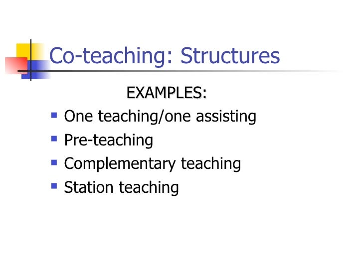 Collaborative Teaching Roles And Responsibilities ~ Supporting children in inclusive settings