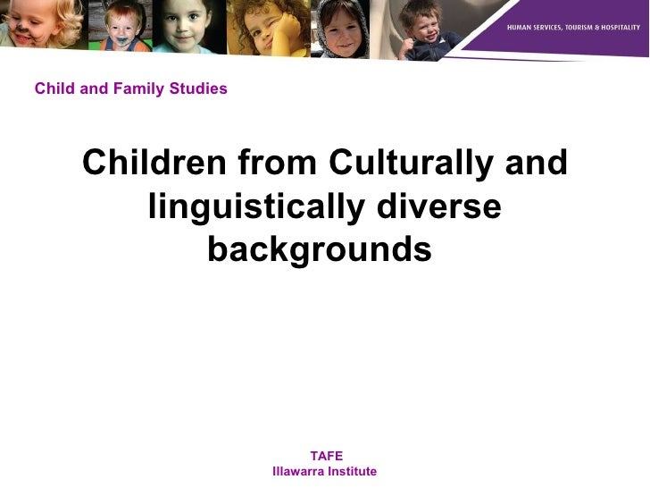 Children from Culturally and linguistically diverse backgrounds