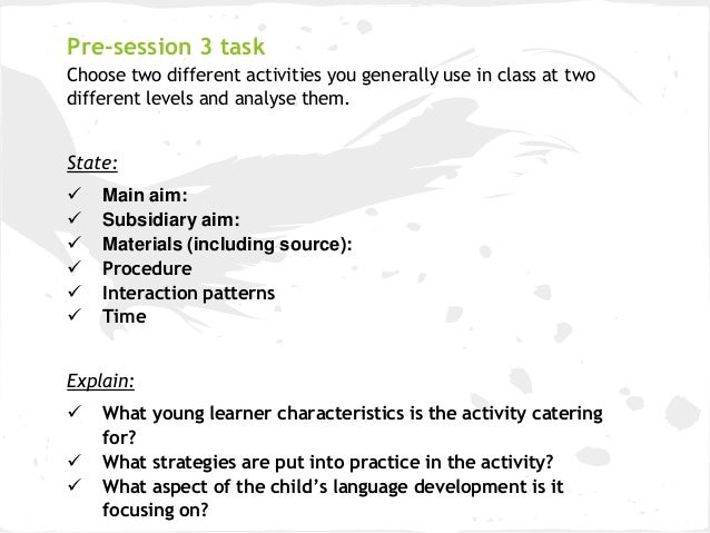 tma04 supporting childrens learning Exploring children's learning openlearn works with other organisations by providing free courses and resources that support our mission of opening up.