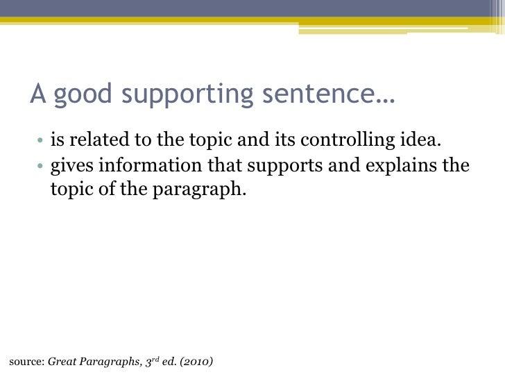 how to write a good concluding sentence