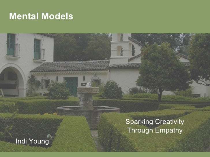 Mental Models Sparking Creativity Through Empathy Indi Young