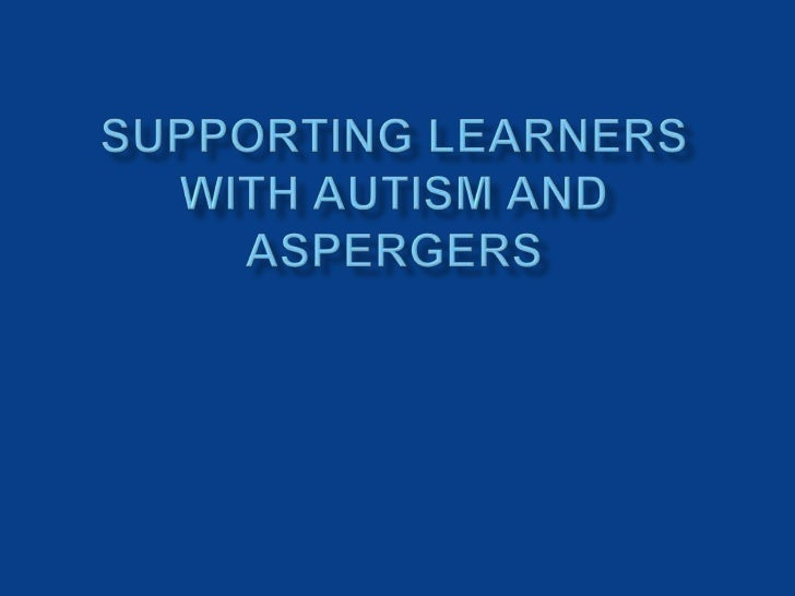 "   Explore the differences and shared    characteristics between Autism and Asperger""s    Syndrome   Investigate a range..."