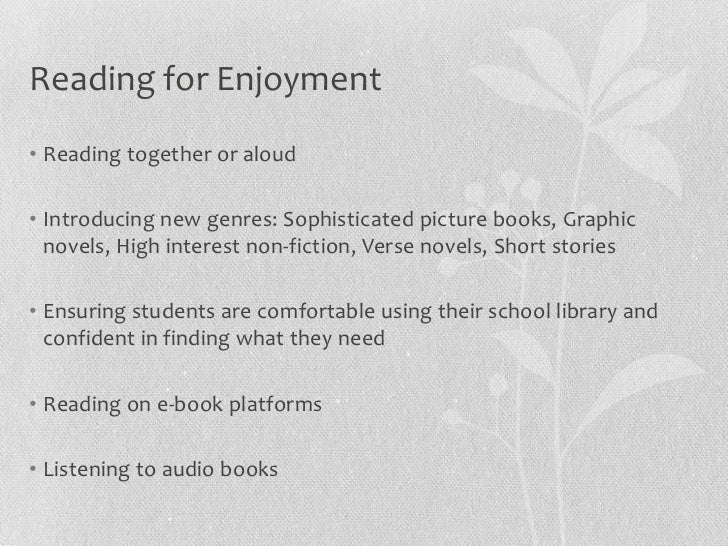 Supporting Literacy in Libraries Slide 2