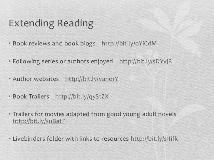 Supporting Literacy in Libraries Slide 3