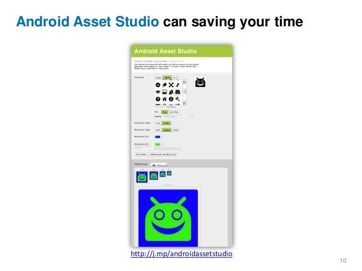 Android Image Asset Studio