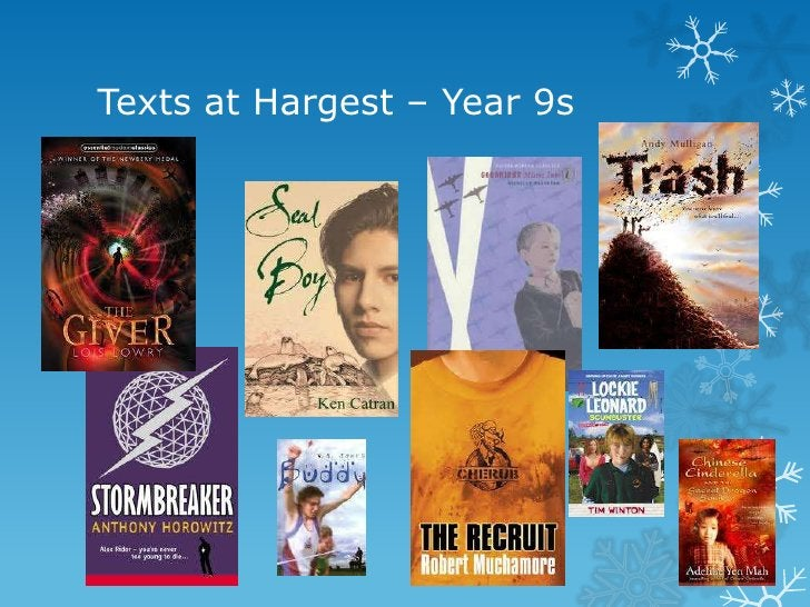 Texts at Hargest – Year 9s