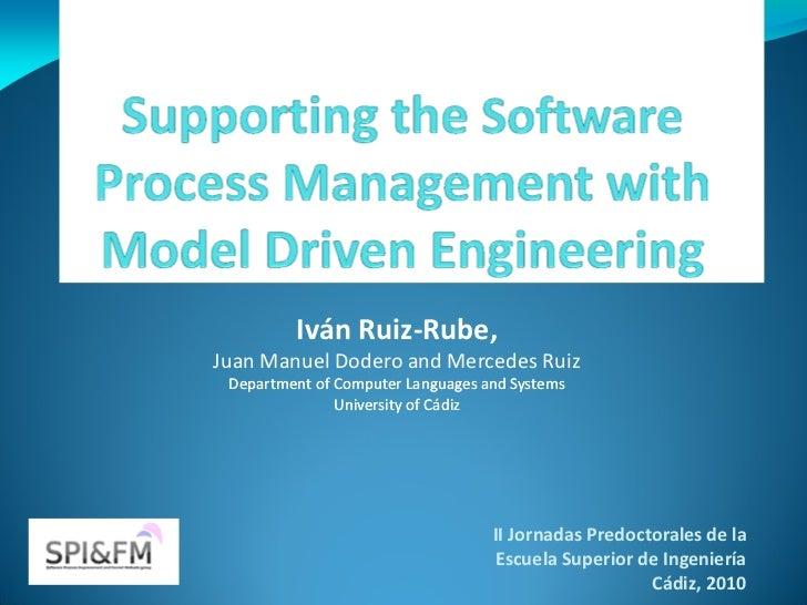 Iván Ruiz-Rube,Juan Manuel Dodero and Mercedes Ruiz Department of Computer Languages and Systems               University ...